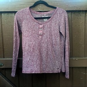 American Eagle Outfitters Red Top
